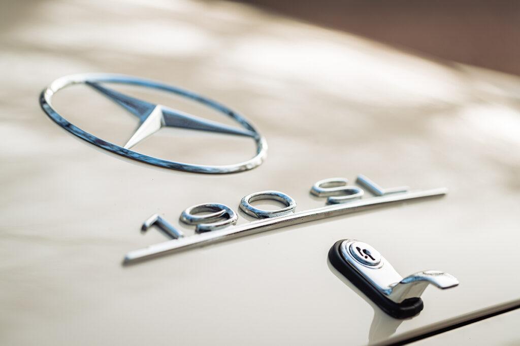 Mercedes-Benz 190 SL W121 embleem kofferbak