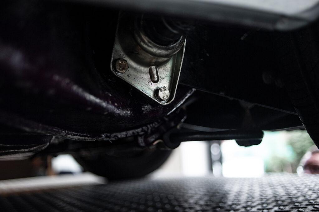 Porsche 911 2.4T Coupé Ölklappe