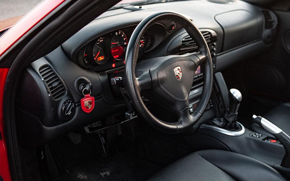 Porsche sleutelgat links